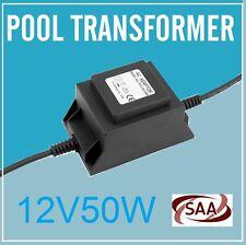 New 12V AC Waterproof Transformer for Swimming Pool Lights