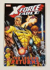 X-FORCE & CABLE The Legend Returns TPB Marvel 2005 Domino Shatterstar NM
