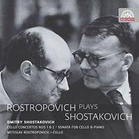 Mstislav Rostropovich - Rostropovich plays Shostakovich [CD]