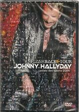 "DVD ""Johnny Hallyday - Flashback tour"" - NEUF SOUS BLISTER"