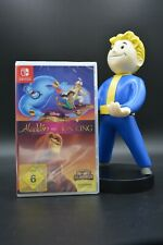 Nintendo switch juego Disney Classic Games Aladdin and the Lion King OVP nuevo