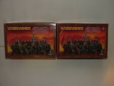 Warhammer Fantasy/AOS warriors of chaos X2 new in box.