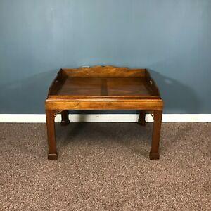 Baker Historic Charleston Collection Mahogany Coffee Table