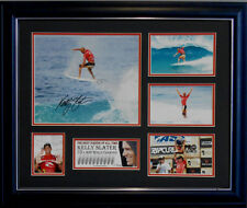 KELLY SLATER SIGNED LIMITED EDITION FRAMED MEMORABILIA