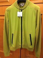 NWT Hermes Men Wool / Nylon / Elastane Bomber Jacketr Size M