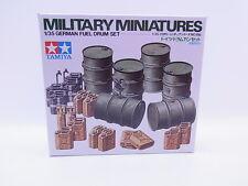 59108 | Tamiya 35186 Miniatures German Fuel drum Fässer Set 1:35 Bausatz NEU OVP