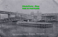 R455664 High Level and Swing Bridges. Newcastle. Alumino. 1905