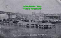 R455664 High Level and Swing Bridges. Newcastle. Alumino. 1905