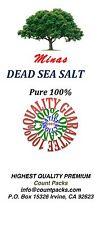 Dead Sea Salt 20 LB - Fine Grain- Pure 100% From MINAS Free Shipping 20 LB BULK