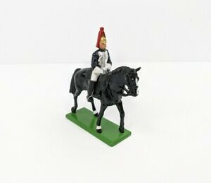 W Britains #08035 Regiment Blues And Royals Mounted Horse Guard Sword 1988