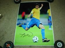 """Kaka Real Madrid Autographed 13x19"""" PhotoQuality Poster    COA"""