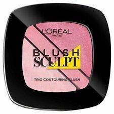 New L'oreal blush sculpt trio contouring blush soft rosy palette 201