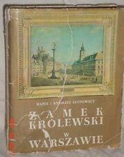 ZAMEK KROLEWSKI W WARSZAWIE 1973 WARSAW CASTLE PHOTOS POLAND POLSKA GOOD COND