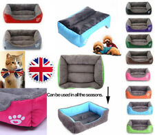 Pet Dog Cat Bed Kennel Mat Warm House Puppy Cushion Soft Blanket Washable Mat
