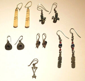 Misc. Variety Artisan Selection of Dangle Hook Earrings-You Choose-PreOwned