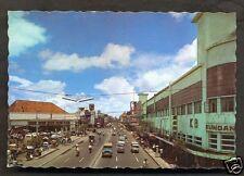 Surabaya Jalan Tunjungan Cars Becak Java Indonesia 70s