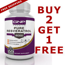 Resveratrol 1200mg - High Strength Anti-Aging Formula with Acai - 60 Capsules