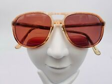 Vintage Mc F342 Brown Transparent Aviator Sunglasses Frames Only