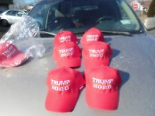 donald trump 20 20 hats RED 6 for 40.00 free shipping