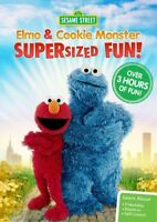 Sesame Street: Elmo and Cookie Monster Supersized Fun [New DVD] Amaray