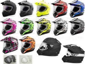 GMAX GM-11S Snowmobile Helmet Dual Pane Anti-Fog Shield Optional Electric Shield