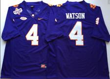NEW Men's Clemson Tigers Purple #4 WATSON Football Custom Jersey