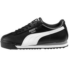 Puma Roma Basic Jr 354259-01 Black White Shoes Sneakers Gs Kids Youth Size 5