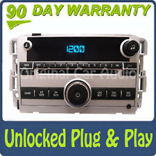 Unlocked 2007 GMC Chevy Equinox OEM Factory Stereo AM FM Radio CD Player AUX