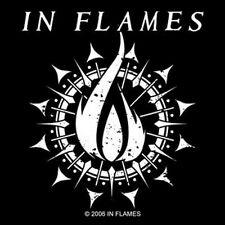 In Flames - Flame Symbol - Aufkleber Sticker - Neu
