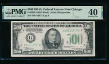 Ac 1934A $500 Five Hundred Dollar Bill Chicago Pmg 40