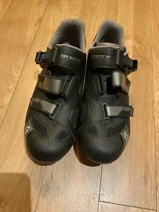 Mens Scott Cycling Shoes, Size 9 Eur 43