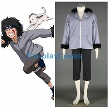 Naruto Anime INUZUKA KIBA Cosplay Costume Halloween