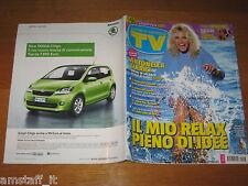TV SORRISI E CANZONI=2012/33=ANTONELLA CLERICI=VANESSA HESSLER=CARLY RAE JEPSEN=