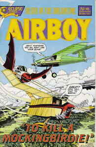 Airboy #45 VF/NM; Eclipse | save on shipping - details inside