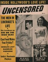 Uncensored March 1955 Marilyn Monroe Joe Di Maggio Jack Dempsey 070519DBE2