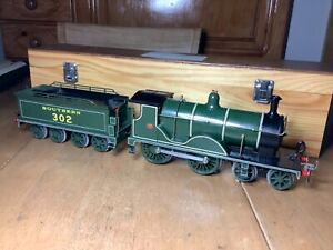 O gauge Coarse Scale 12 volt 3 Rail Electric SR 4-4-0 T9 Class Loco 302