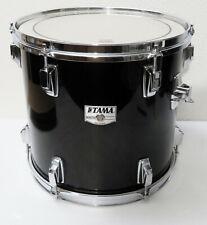 "1980's Vintage TAMA Japan SWINGSTAR 13"" x 12"" TOM DRUM, BLACK Finish, NICE!"