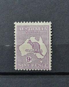 AUSTRALIA SG 133 9D VALUE M/MINT