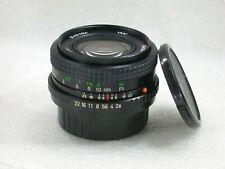 Vivitar VMC 28mm F2.8 Manual Focus Wide Angle Lens, Pentax PK Fit No. 99510935
