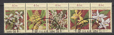 Christmas Islands 1994 Orchids strip fine used