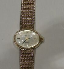 Ladies Rolex 9K gold bracelet watch with the original Box