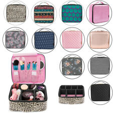 Women's Makeup Bag Cosmetic Case Storage Toiletry Box Travel Organizer Pouch