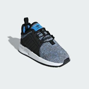 Adidas ORIGINALS Kids Blue Knit Lightweight ORTHOLITE Sneakers Boys size 8K new
