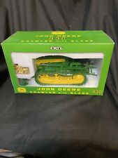 John Deere 430 Crawler with Blade By Ertl 1/16 Scale + 1/64 GOLD John Deere 430