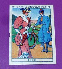 COSTUMES CIVILS DIVERSES EPOQUES 1900 CHROMO CHOCOLAT PUPIER JOLIES IMAGES 1930