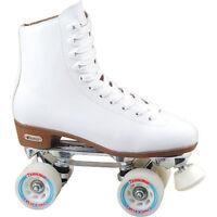 Chicago 800 White High Top Women's Roller Skates - For Indoor Skating