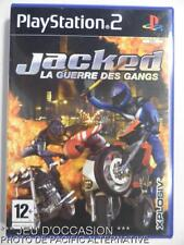 COMPLET Jeu JACKED playstation 2 sony PS2 francais game combat course de moto