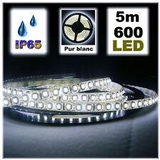 819/5# Strip LED Blanc étanche 600 LED bobine de 5m