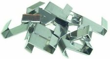 Acero Inoxidable Invernadero acristalamiento de vidrio Z superposición de Reparación Fijación Clips x 100