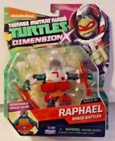 Nickelodeon Teenage Mutant Ninja Turtles Dimension X Raphael New MOSC